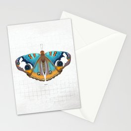 calm: buckeye butterfly Stationery Cards