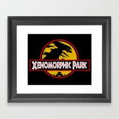 Xenomorphic Park  Framed Art Print