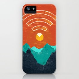 OUT OF OFFICE iPhone Case