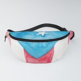 Puerto Rico Watercolour Fanny Pack