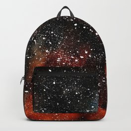 Universe Watercolor Painting Backpack