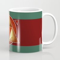 triforce Mugs featuring Triforce by lythy