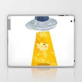 Cow Abduction. Laptop & iPad Skin
