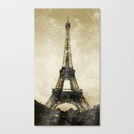 Paris Flea Market Canvas Print