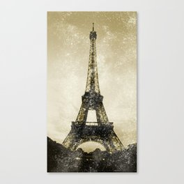 Paris Flea Market Canvas Print