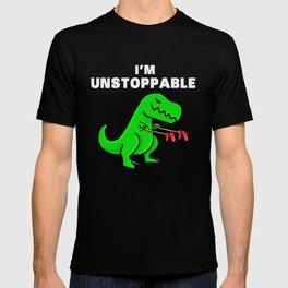 I am unstoppable | Dinosaur Tyrannosaurus Rex T-shirt