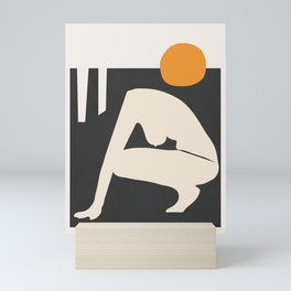 Abstract Art Nude 3 Mini Art Print
