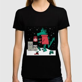 Kaiju Christmas T-shirt