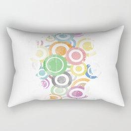 Full Circles Colorful. Ccool and funny Design Rectangular Pillow