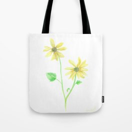 Simple Sunflower Tote Bag