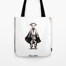 Cow boy Tote Bag