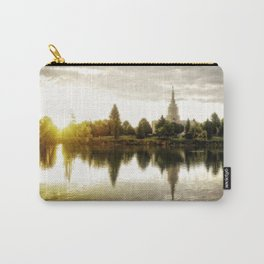 Idaho Falls Temple - Sunrise Carry-All Pouch