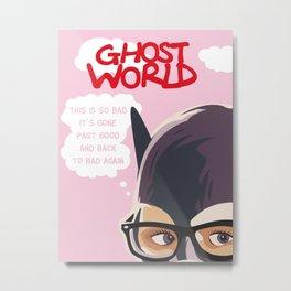 Enid Ghost World art print Metal Print