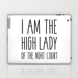high lady of the night court (acomaf) Laptop & iPad Skin