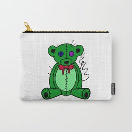 pins and needles teddy bear Carry-All Pouch