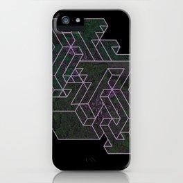 Distorting Darkness iPhone Case
