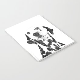 Black and White Dalmatian Notebook