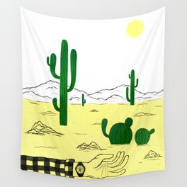 Man & Nature - The Desert Wall Tapestry