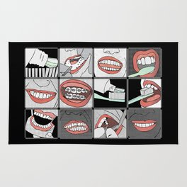 Dentistry horizontal Rug