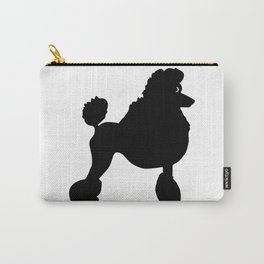 Poodle Dog Breed black Silhouette Carry-All Pouch