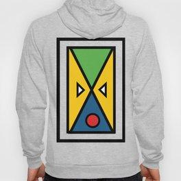 African colorful prints of geometry Hoody