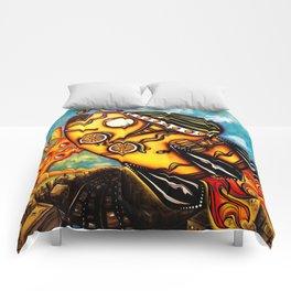 Rocket Bike Comforters