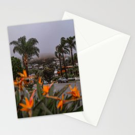 Laguna Beach Street Stationery Cards