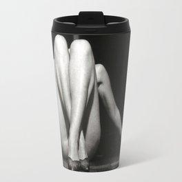 CROSSED LEGS - analog Travel Mug