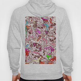 Kamasutra LOVE - Candy Cane Red Hoody