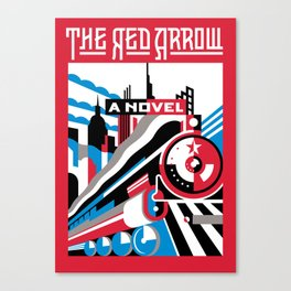 The Red Arrow Canvas Print