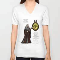fairy tale V-neck T-shirts featuring Fairy Tale by wolfanita