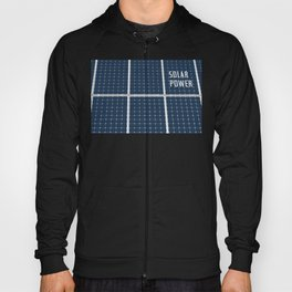 Image Of A Solar Power Panel. Free Clean Energy For Everyone Hoody