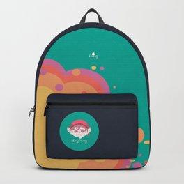 Oh my Piximoji Flamboyant Backpack