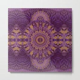 Mandala Echo Metal Print