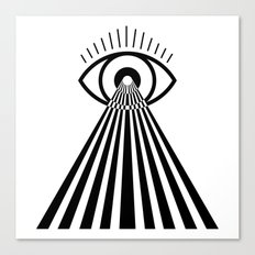 Laser Eye Canvas Print