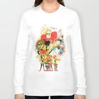pixar Long Sleeve T-shirts featuring Disney Pixar Play Parade - Incredibles Unit by Joey Noble