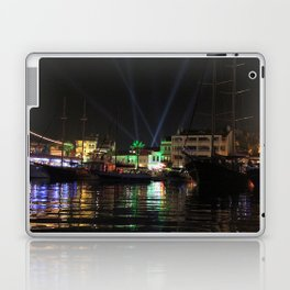 Marmaris Marina Nightscape Laptop & iPad Skin