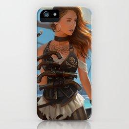 Franceska Drake the black powder pirate iPhone Case