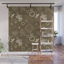 Love, Hearts & Olive That Wall Mural