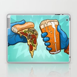 Pizza And Craft Beer Laptop & iPad Skin