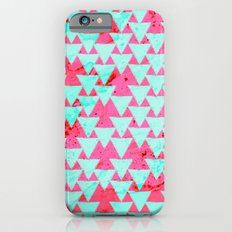 Watercolor Triangle Party Slim Case iPhone 6s