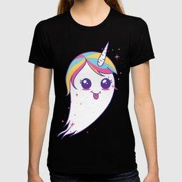 Cute Unicorn Ghost T-shirt