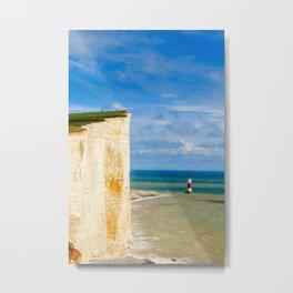 Beachy Head Metal Print