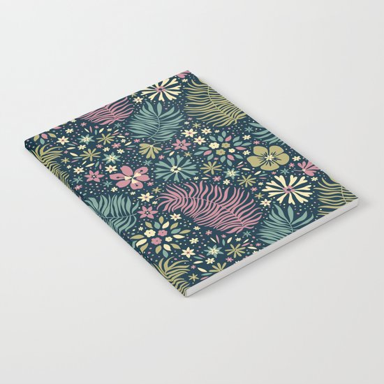 Mystical Forest (Teal and Lilac) Notebook