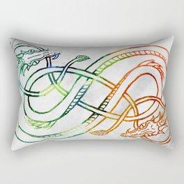 Midgard Serpent Rectangular Pillow