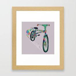 Sweet Ride Bro en Guatemala Framed Art Print