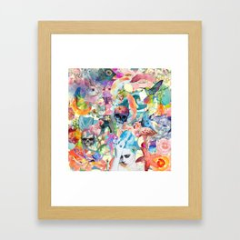 Temporarily Out of Order Framed Art Print