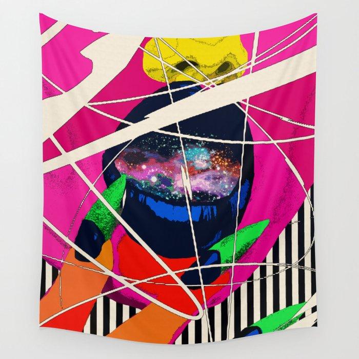 Cosmic Girl Wall Tapestry