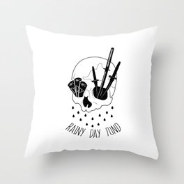 Rainy Day Fund Throw Pillow