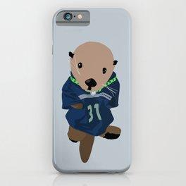 The Littlest Seahawks Fan iPhone Case